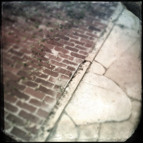 Cobblestones and Pavement