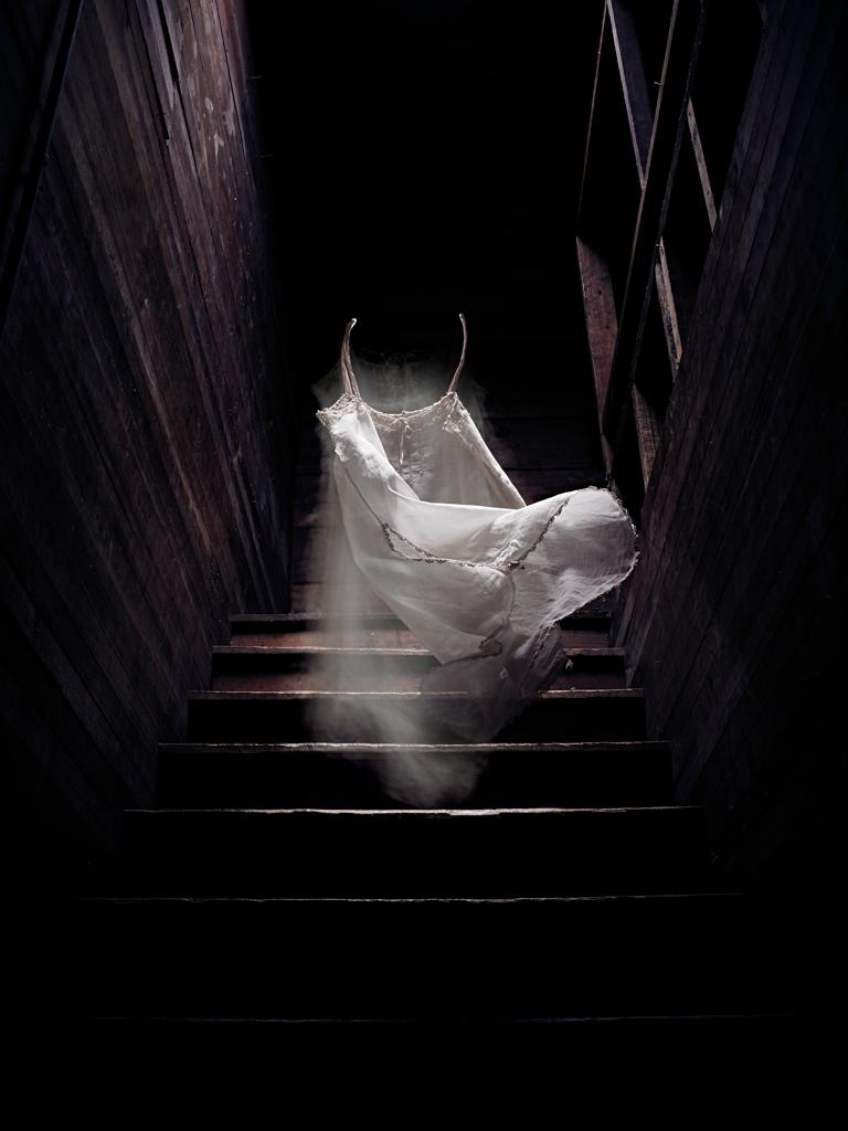 Short Cotton Gown