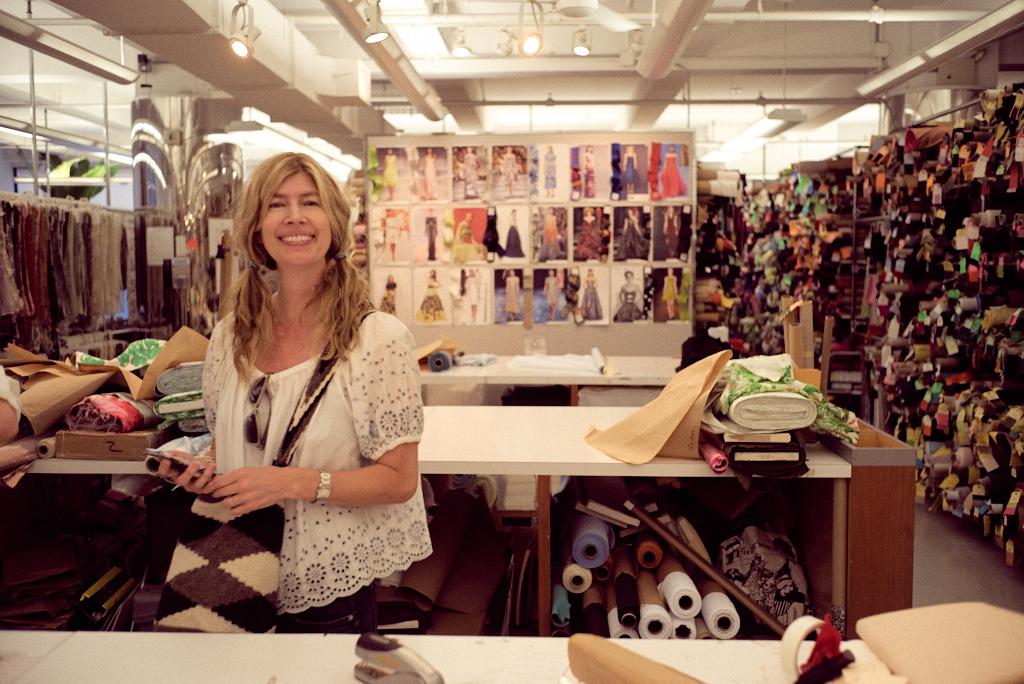 Tracey In B&J Fabrics